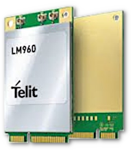 cellular mini PCIe LM960 from Telit