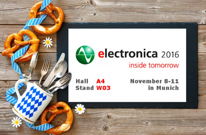 Round Solutions at the Electronica 2016