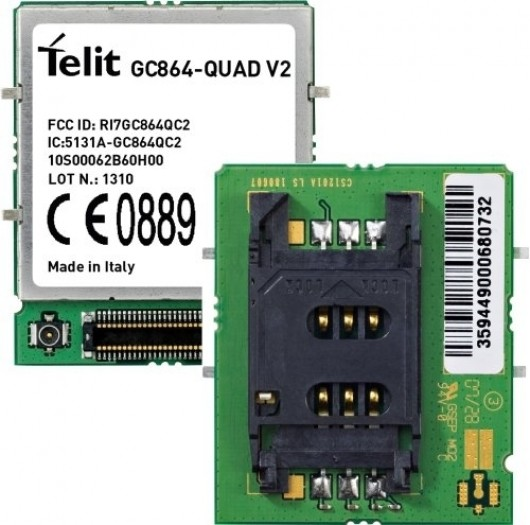 Telit GC864-QUAD, Firmware 10.00.067