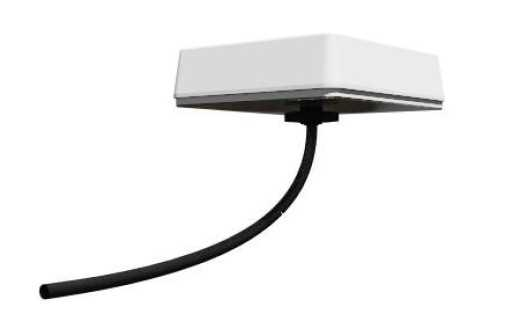 Screwable Stationary/Wall Antenna with 1 Cable Tetra/